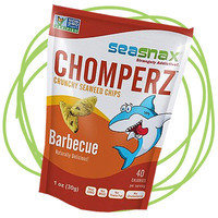 6 Healthy Snacks HG Lisa Loves: SeaSnax Chomperz Crunchy Seaweed Chips