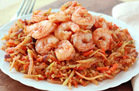 Shrimp 'n Slaw Marinara