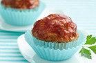 Healthy Comfort Food: Turkey & Veggie Meatloaf Minis