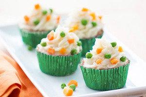 Healthy Comfort Food: Turkey Meatloaf Cupcakes