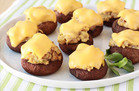 Healthy Comfort Food: Tuna Melt Stuffed Mushrooms