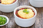 Healthy Comfort Food: Cornbread-Topped Chili Pot Pies