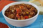 Healthy Comfort Food: Slow-Cooker Turkey Chili