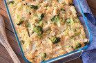 Healthy Comfort Food: Chicken Broccoli & Cauliflower Rice Casserole