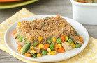 Healthy Comfort Food: Chicken Pot Pie Casserole
