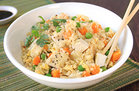 Cauliflower Fried Rice with Chicken