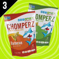 Best of 2016 (So Far): SeaSnax Chomperz Crunchy Seaweed Chips