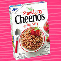 Limited Edition Strawberry Cheerios