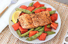 Summer-Perfect Grill Recipes: Balsamic Honey Salmon 'n Veggies