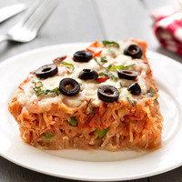 8 Kid-Friendly Recipes: Spaghetti Squash Pizza Pie