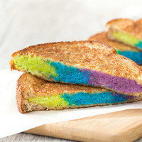 8 Kid-Friendly Recipes: Rockin' Rainbow Grilled Cheese