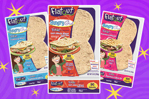 Flatout Exclusive Hungry Girl Foldit Flatbreads