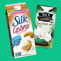Swapping out unsweetened almond milk for other milks
