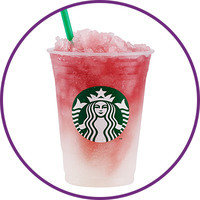Starbucks Drinks with 100 Cals or Less: Youthberry White Tea Granita