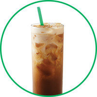 Starbucks Drinks with 100 Cals or Less: Doubleshot on Ice with Nonfat Milk (Sweetened)
