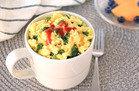 Kale & Sriracha Fluffy Egg Mug
