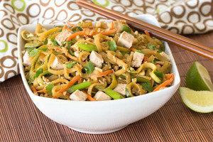 Meatless Recipes You'll Love: Zucchini-Noodle Pad Thai
