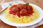 Meatless Recipes You'll Love: Spaghetti Squash and Meatless Meatballs