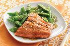 Sesame Salmon & Snap Peas