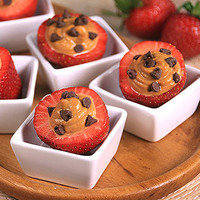 8 Low-Calorie Dessert Recipes: Chocolate & PB Stuffed Strawberries