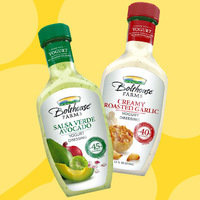 Bolthouse Farms Yogurt Dressings: Salsa Verde Avocado and Creamy Roasted Garlic