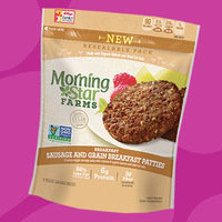 MorningStar Farms Breakfast Sausage and Grain Breakfast Patties