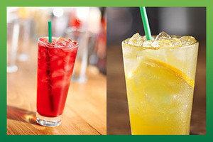 Starbucks: Best Low-Calorie Tea and Fruit Drinks