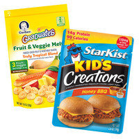 Snack Hacks: Hit the baby-food aisle for surprisingly fantastic finds.