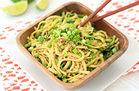 Cold Sesame Zucchini Noodles