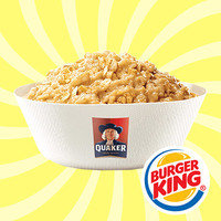 6 Smart & Quick Breakfast Orders: Burger King Original Maple Flavored Oatmeal