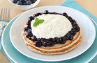 True Blueberry Cannoli Pancakes