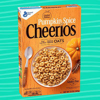 Limited Edition Pumpkin Spice Cheerios