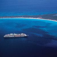 Hungry Girl Cruise: Half Moon Cay, Bahamas
