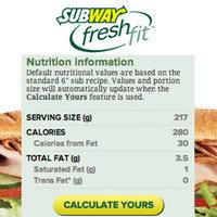 Order Smart at Subway