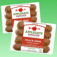 Applegate Naturals Peach Jerk Chicken Sausage