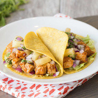 Healthy Dinner Recipes in 20 Minutes or Less: Hawaiian BBQ Chicken Tacos