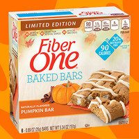 Fiber One Baked Bars Limited Edition Pumpkin Bar