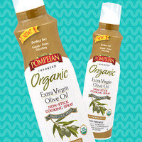 Pompeian Organic Extra-Virgin Olive Oil Non-Stick Cooking Spray