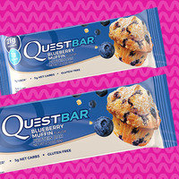 Quest Bar Blueberry Muffin Flavor Protein Bar