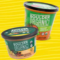 Boulder Organic! Chicken Quinoa & Kale and Roasted Tomato Basil Soups