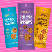 Biena Chickpea Snack Packs