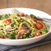 Healthy Spiralizer Recipes: Z'paghetti Primavera
