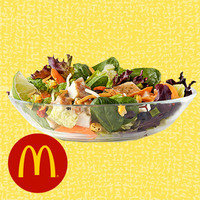 HG's Drive-Thru Meals Under 350 Calories: McDonald's Southwest Grilled Chicken Salad without Tortilla Strips
