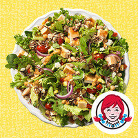 HG's Drive-Thru Meals Under 350 Calories: Wendy's Power Mediterranean Chicken Salad (Half Size)