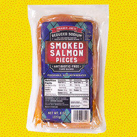 HG's Trader Joe's Food Finds: Reduced Sodium Smoked Salmon Pieces