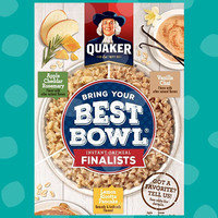 Vote on New Flavors: Quaker Instant Oatmeal