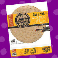 La Tortilla Factory Low Carb Whole Wheat Large Size Tortillas