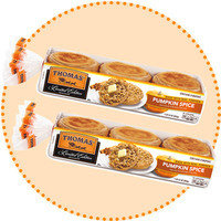 Worth-It Pumpkin Spice Finds: Thomas' Limited Edition Pumpkin Spice English Muffins