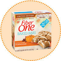 Worth-It Pumpkin Spice Finds: Fiber One Limited Edition Pumpkin Baked Bar