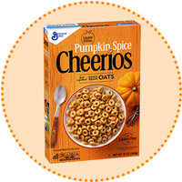 Worth-It Pumpkin Spice Finds: Limited Edition Pumpkin Spice Cheerios